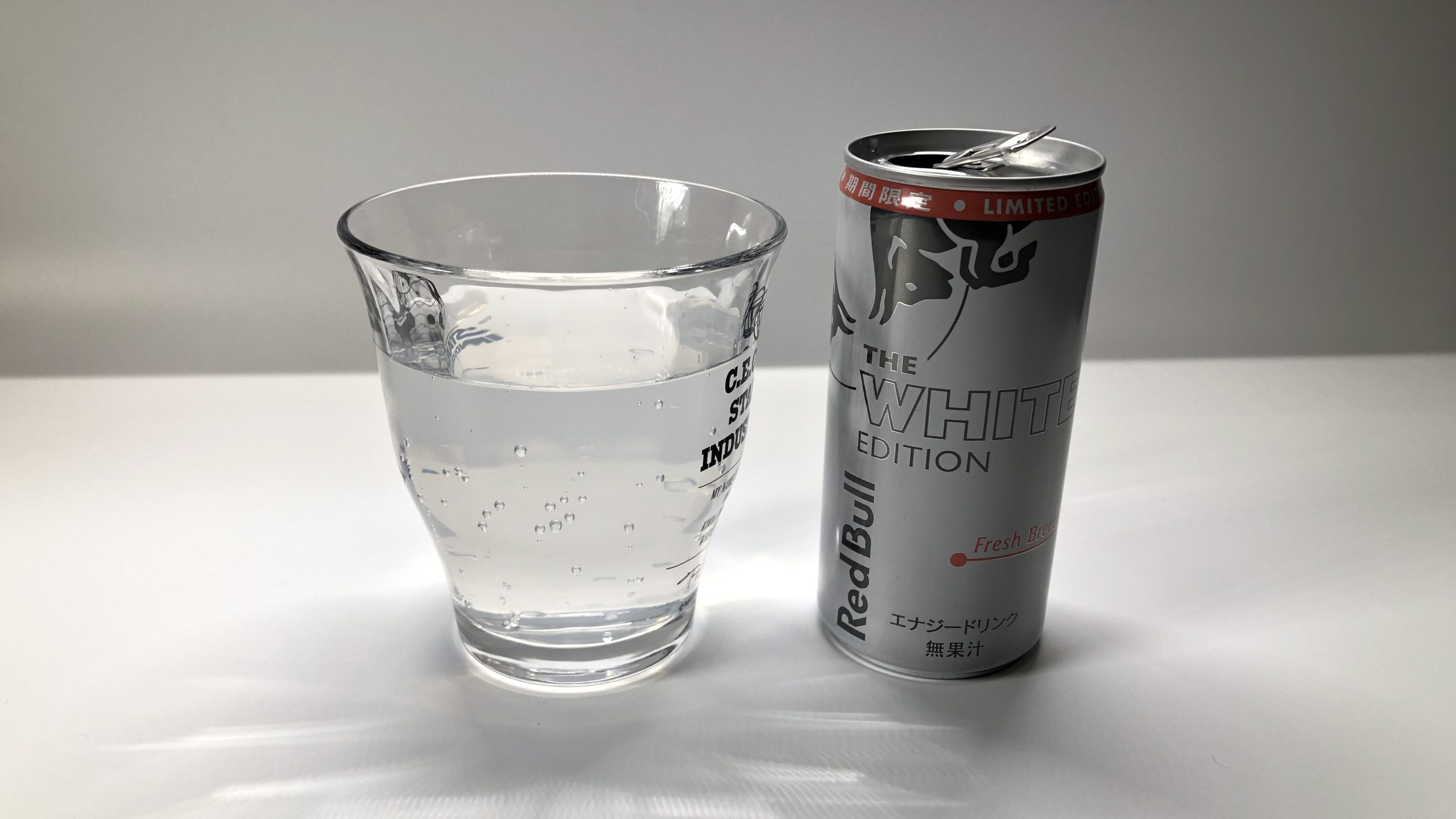 Red Bull White Edition見た目と味