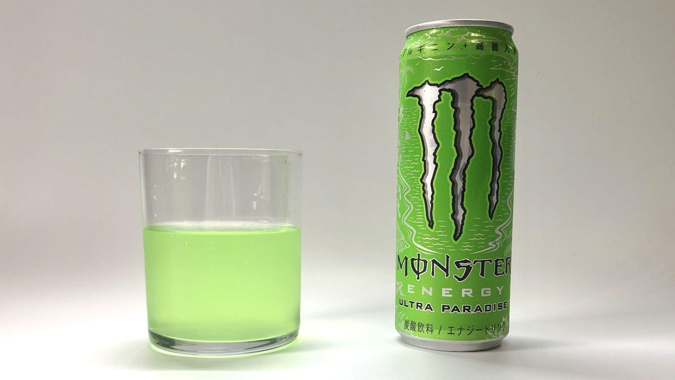 Monster Ultra Paradiseの見た目と味