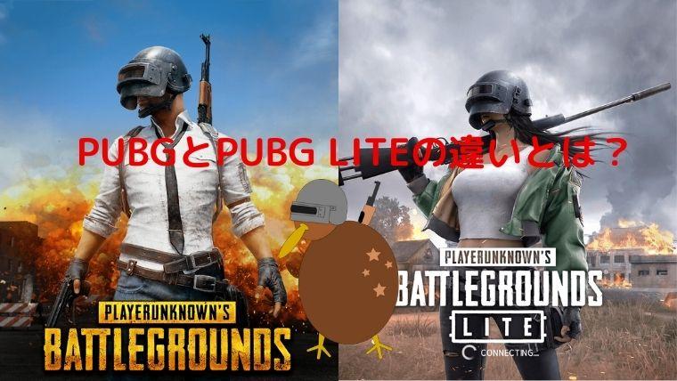 ゲーム PUBGとPUBG LITEの違いとは?